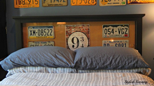 Pottery Barn Headboard Revamp
