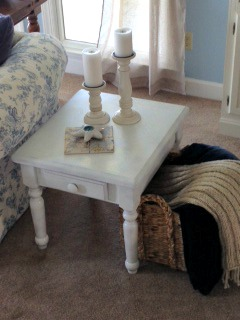 goodwill revamped end table