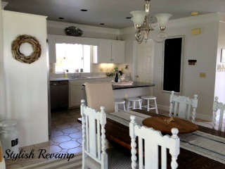 White Kitchen Renovation