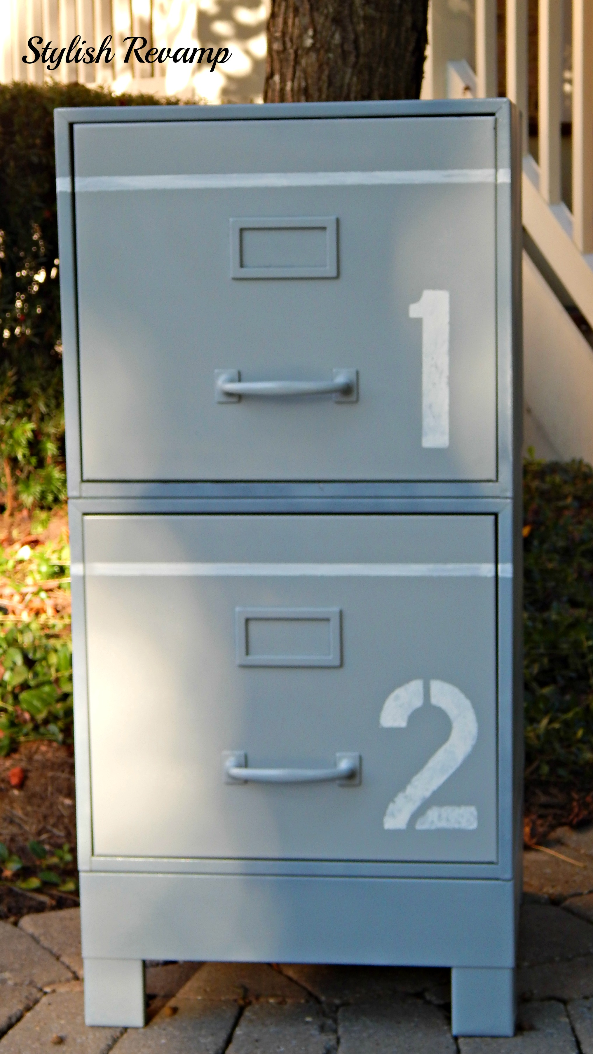 Filing cabinet revamp stylish revamp Revamp old kitchen cabinets