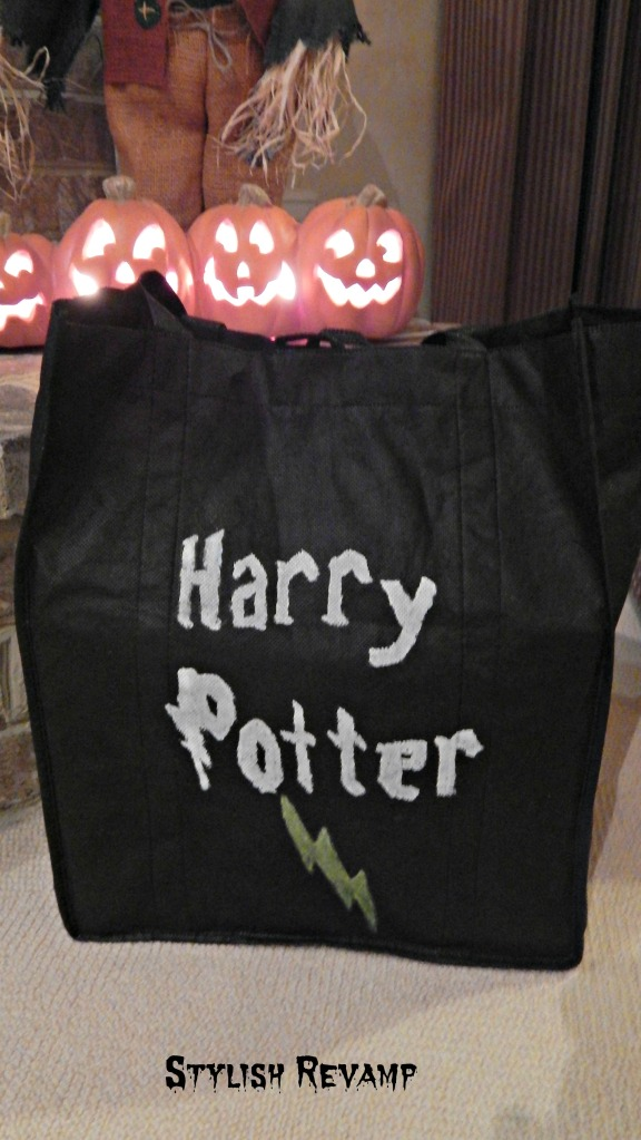 Harry Potter Halloween Treat Bag