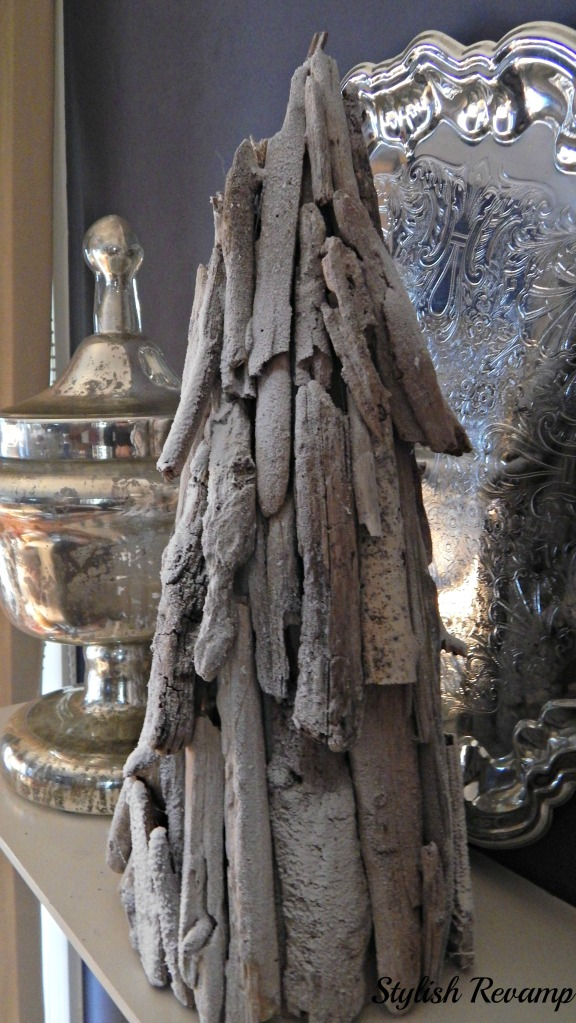 Driftwood Christmas Tree Restoration Hardware Hack