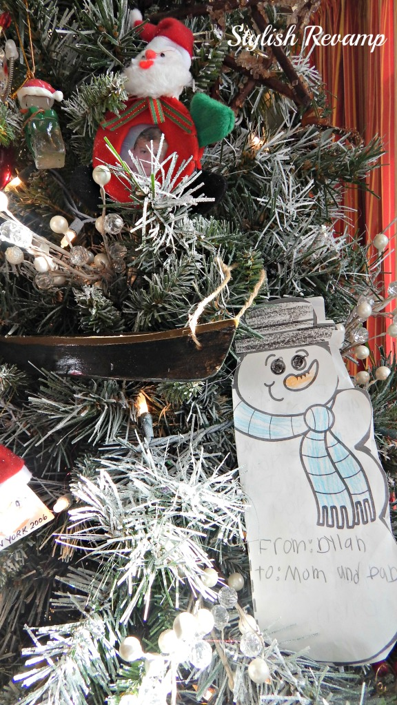 Homemade Christmas Ornaments and Keepsakes