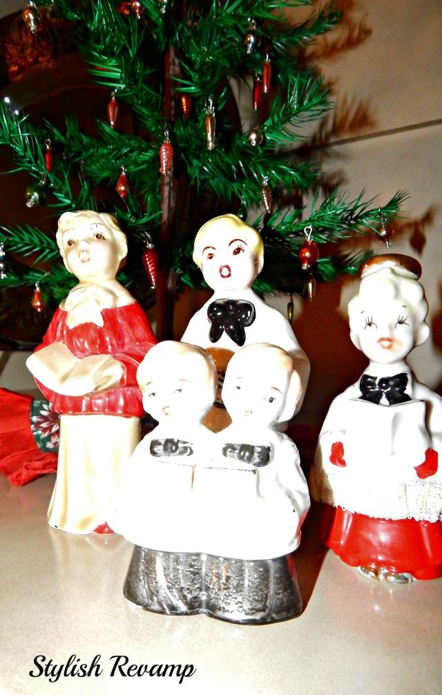 Vintage Christmas Carollers