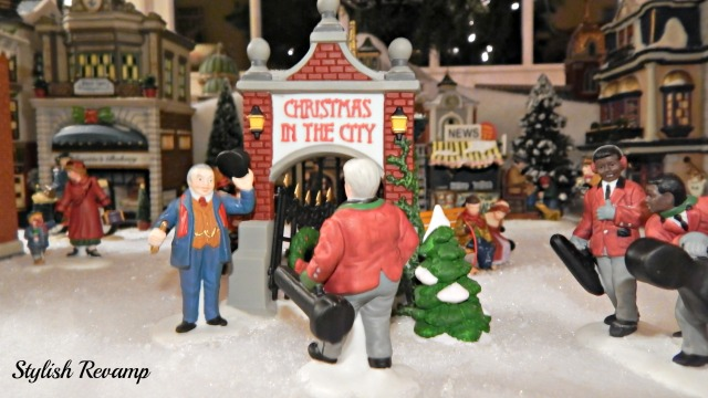Christmas in the City Dept. 56 Entrance to the City
