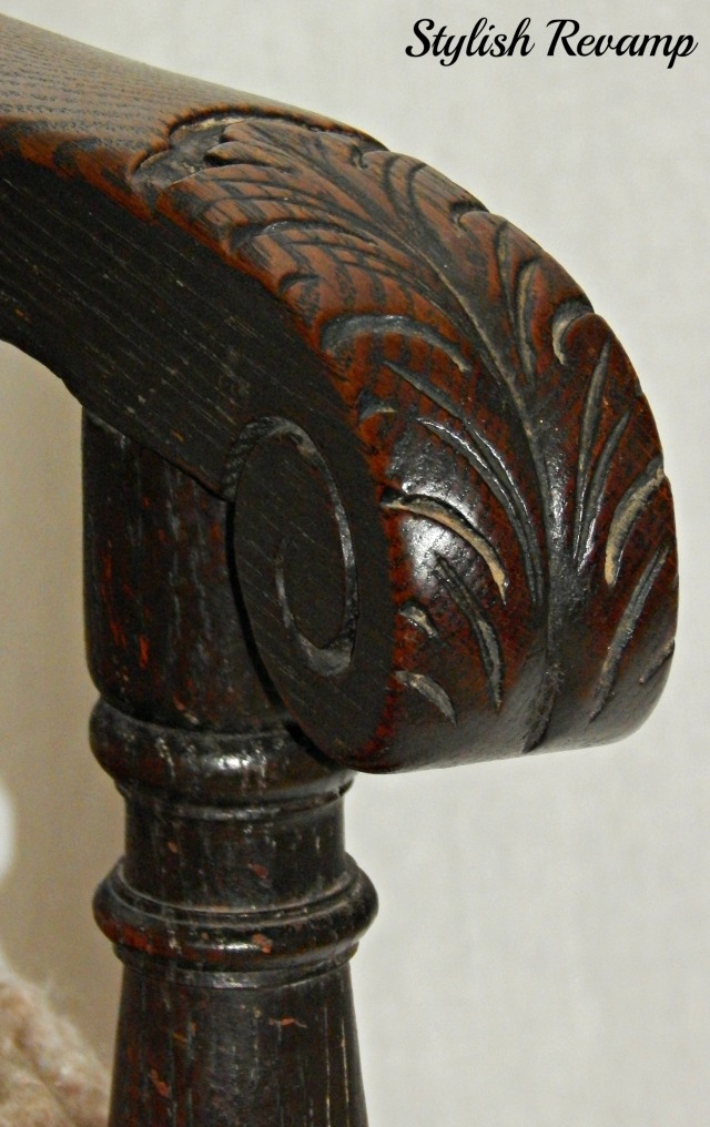 Carved Antique Chair