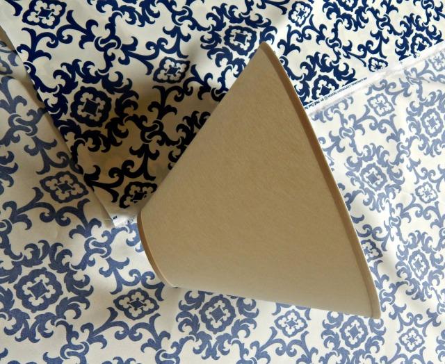 DIY Fabric Shade