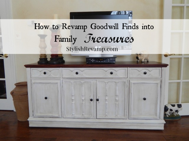 How to Revamp Goodwill Finds into Family Treasures