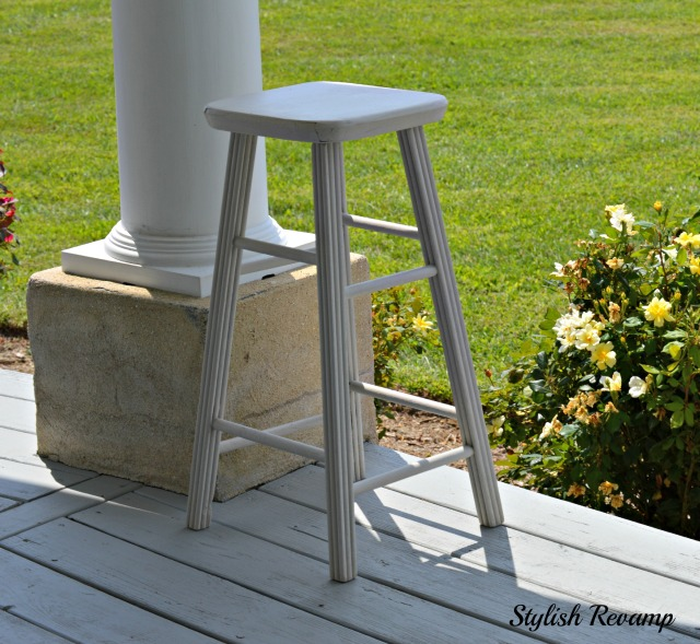 DIY Chalk Paint Stool