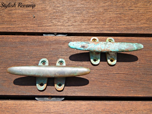 Boat Cleats Used For Decorative Hooks