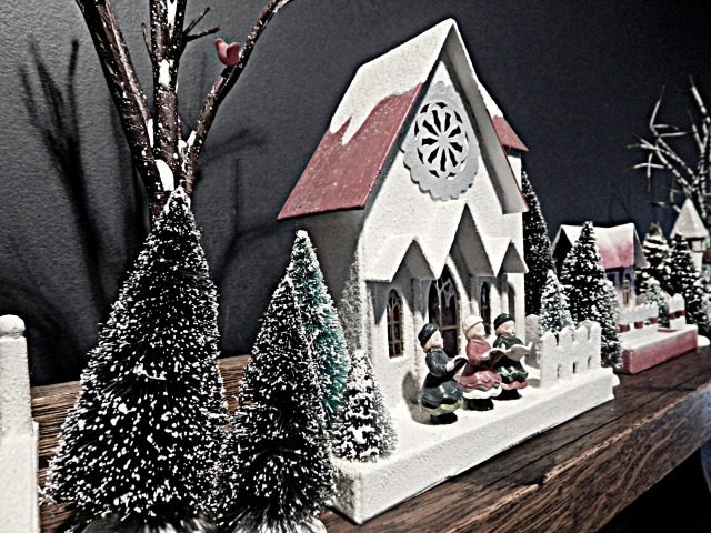 Vintage Christmas Villages