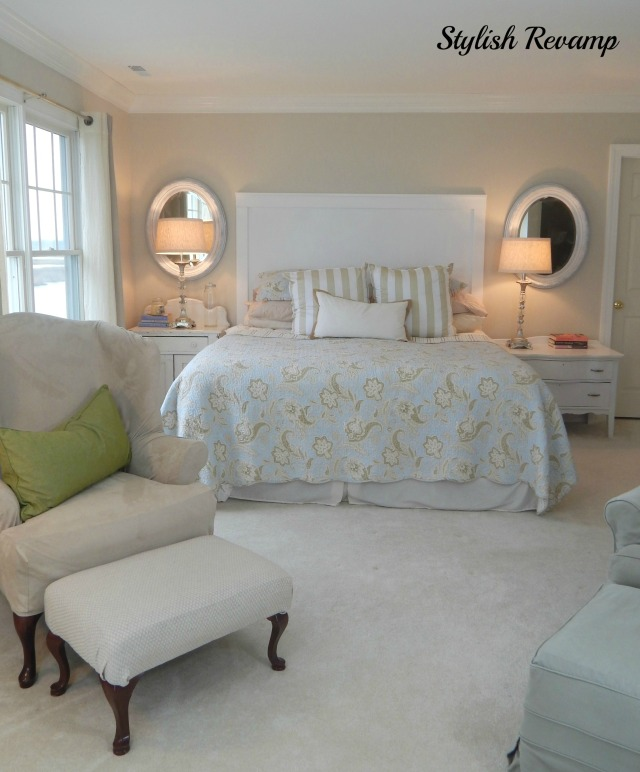 Master bedroom with Neutral Colors